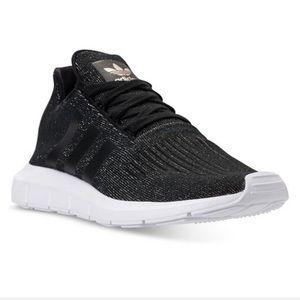 adidas Shoes - Womens black original adidas shoes!!